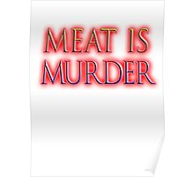 Meat is Murder, Vegetarianism, Vegetarian, Vegan, Poster
