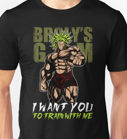 I WANT YOU TRAIN WITH ME! - gym Unisex T-Shirt