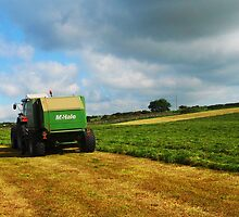 Massey Ferguson and McHale Baler by thegreendogs