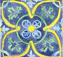 Talavera Tile 105 by James J. Barnett