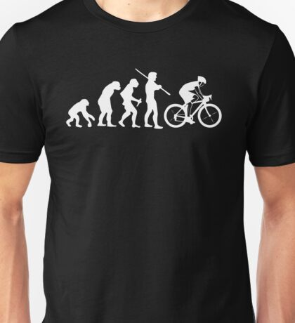 Cycling Evolution, Bicycle Lover Shirt Unisex T-Shirt