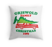 Griswold Family Christmas1989 Throw Pillow