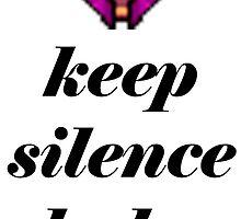 KEEP SILENCE BABY Silencer Dota 2 by Manich