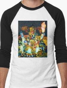 Midgar Men's Baseball ¾ T-Shirt