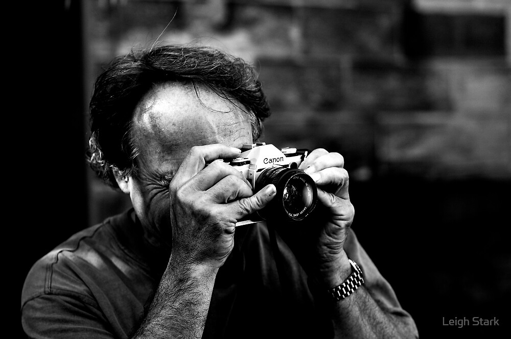 The Photographers  #1 (Old Canon) by Leigh Stark