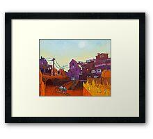 Gold Rush 2 Framed Print