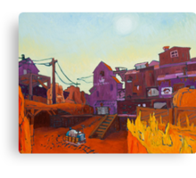 Gold Rush 2 Canvas Print