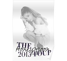 The Honeymoon Tour 2015 (Shade White Only) Poster