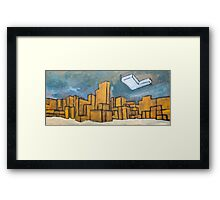 Minecraft Panorama Framed Print