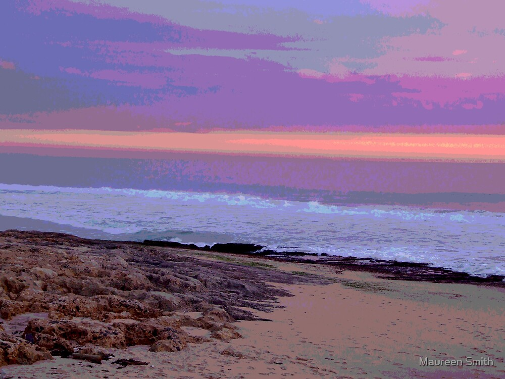 Seascape, Bunbury, South Western Australia by Maureen Smith