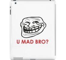 MEME: U mad bro? iPad Case/Skin