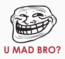 MEME: U mad bro? Kids Tee