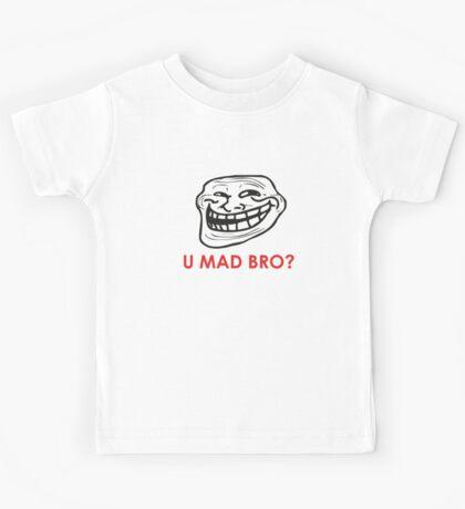 MEME: U mad bro? Kids Tee