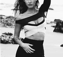 Megan Fox Demon. by EllieTheZombie