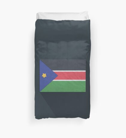 South Sudan Duvet Cover