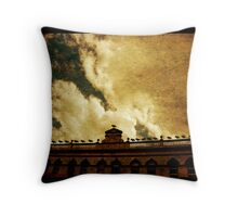 West End building Throw Pillow