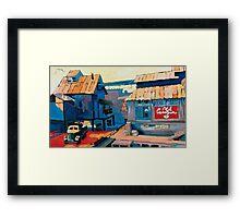 Old Geezer Framed Print