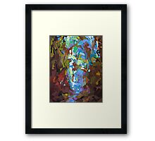 Alien Vs. Predator Woods Framed Print