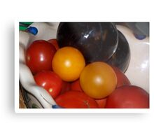 Fruit and Veggies (Still Life) Metal Print