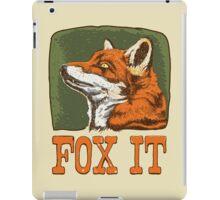 FOX IT  iPad Case/Skin