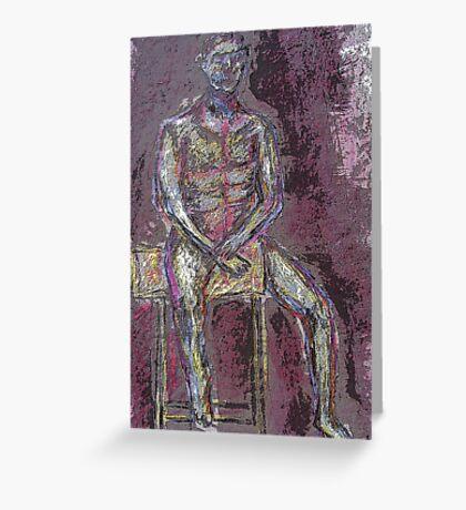 Coloured Man Greeting Card
