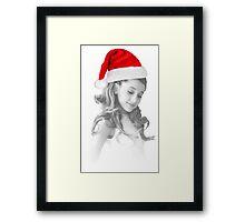 A festive Grande Framed Print