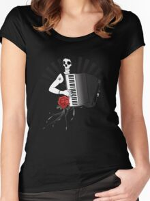 Hell's Accordion Angel Women's Fitted Scoop T-Shirt