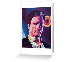 The Illusive Man Greeting Card