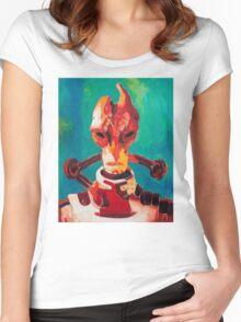 Professor Mordin Solus Women's Fitted Scoop T-Shirt