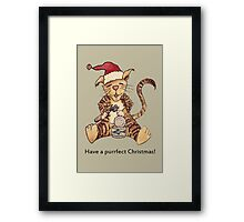 Wildago's Christmas Dinner for Duke Framed Print