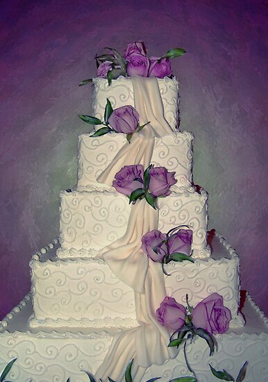 Wedding Cake by cheerishables