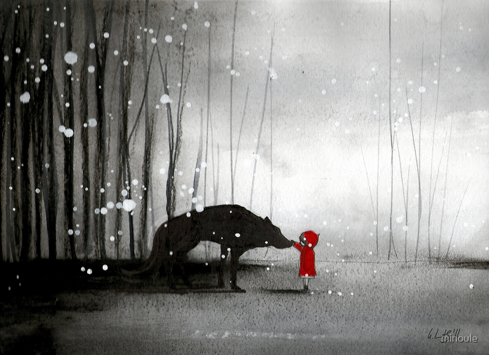 Little Red Riding Hood - The First Touch by minoule