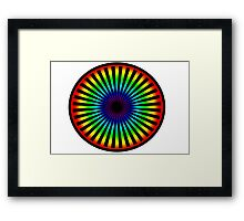 Eyeball to the Soul Framed Print