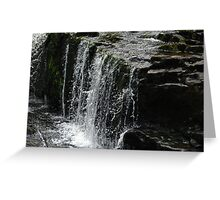 SCULPTURE IN WATER Greeting Card