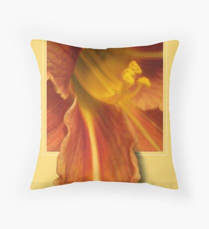 LAPPING WATER Throw Pillow