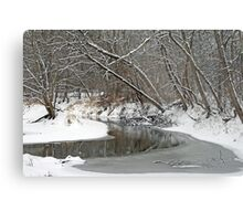 Early Winter At Petrifying Springs Metal Print