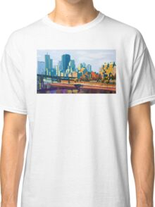 GTA IV Cityscape, Late Afternoon Classic T-Shirt