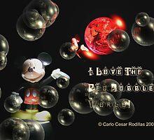 Mickey Loves The RedBubble World  by Carlo Cesar Rodillas