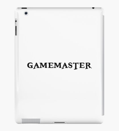 Gamemaster Tabletop RPG iPad Case/Skin
