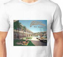 Caribbean Motel Wildwood New Jersey Retro 1960's Photographs Unisex T-Shirt