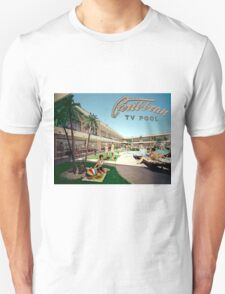 Caribbean Motel Wildwood New Jersey Retro 1960's Photographs T-Shirt