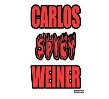 Carlos Spicy Weiner Photographic Print