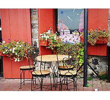 French Bistro Photographic Print