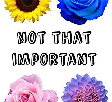 """""""Not that important"""" Harry Styles Quote Phonecase by casmau"""