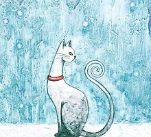 The Winter Cat by Timone