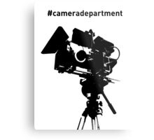 Camera Department Metal Print