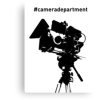 Camera Department Canvas Print