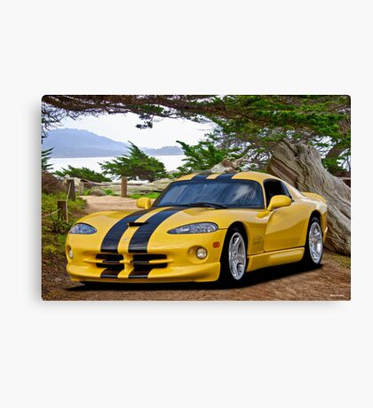 Dodge Viper 'Cypress Point' Canvas Print