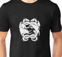 Double Dragon Black Unisex T-Shirt