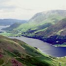 Buttermere and Crummock Water by Gordon Hewstone